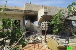 Demolition of prisoner Ahmad Qamba'a home for (security claims)