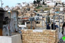 Halt of construction on a citizen's home in Ash-Shuhada'Street/ Hebron governorate