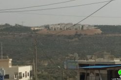 "Expanding ""Ariel"" settlement / Salfit governorate"