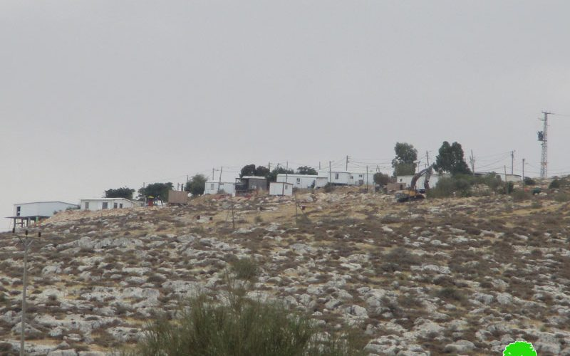 """The occupation authorities legalize """"Mizpe Karam"""" outpost/Ramallah governorate."""