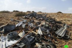 Demolition of residential and agricultural structures in Bardala/ Tubas Governorate