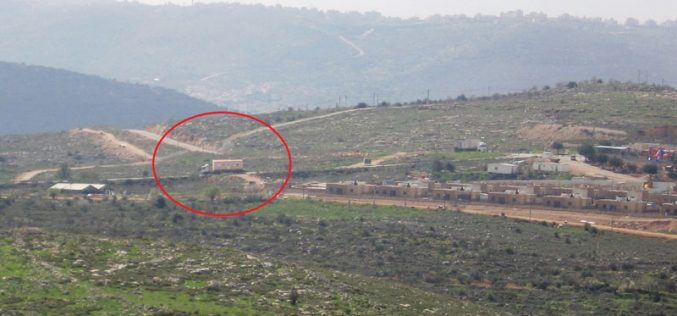 Israeli to construct new colony on Jalud lands / Nablus governorate