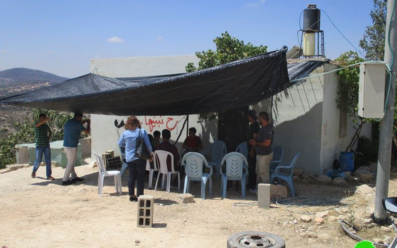 The occupation army threatens to demolish Martyr Mohammad Dar Yusif family home in Kubar village / Ramallah governorate