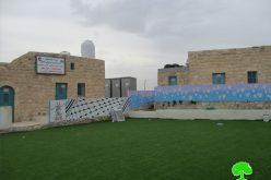 الاحتلال ينتهك حق الأطفال في التعليم… استهداف مدرسة التحدي 10 في خربة ابزيق / طوباس