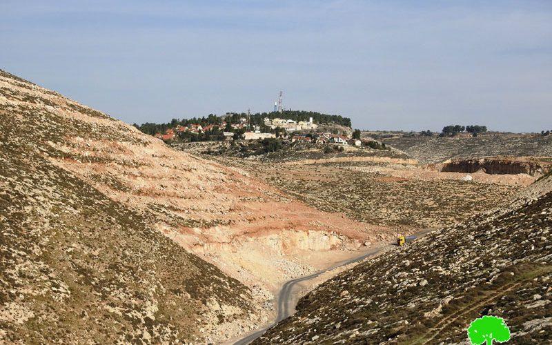 الاحتلال يهدم مسكناً زراعياً في قرية سوبا غرب الخليل