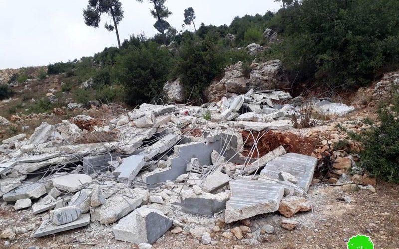 Ravaging 12 graves in Al-'Arrub Camp north Hebron