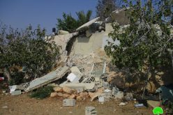 Demolition of Martyr Mohammad Dar Yusif family home in Kubar village / Ramallah governorate