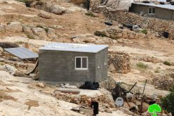 الاحتلال يصدر أوامر بهدم 4 مساكن في قرية المفقرة شرق يطا / محافظة الخليل