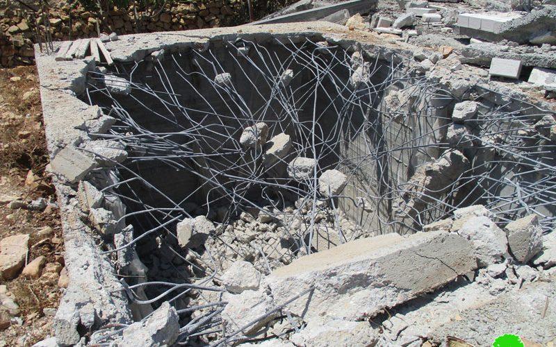 Demolition of 2 houses in Deir Dibwan/ Ramallah
