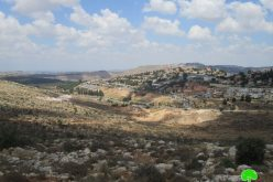Israeli settlers to devour 324 donums for a colonial road