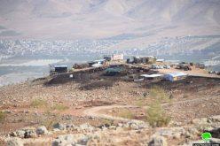 مستعمرو الأغوار يستولون على عشرات الدونمات الزراعية من أراضي منطقتي السويدة والمزوكح / محافظة طوباس