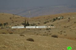 "Israel to expand ""Nahil"" military camp / Tubas governorate"