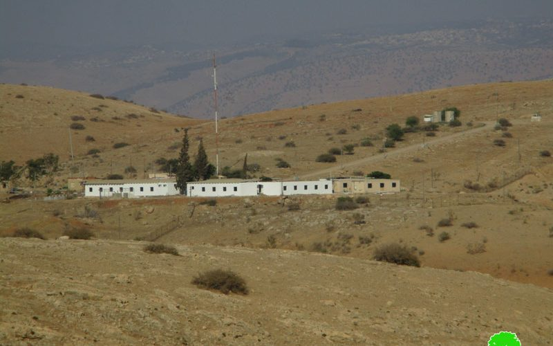 """Israel to expand """"Nahil"""" military camp / Tubas governorate"""