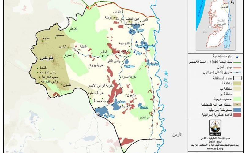 الوضع الجيوسياسي في محافظة طوباس