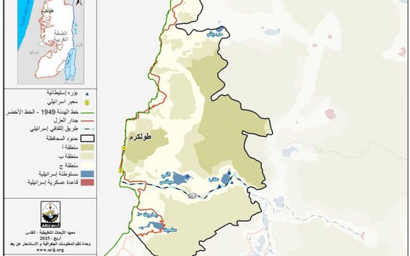 الوضع الجيوسياسي في محافظة طولكرم