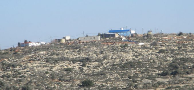 New outpost in Al-Mughayyir / Ramallah