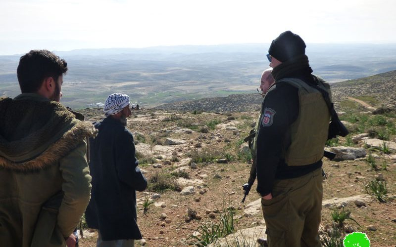 Fanatic settlers attack a Palestinian farmer East Yatta – Hebron governorate