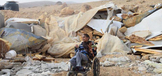 جيش الاحتلال يهدم مسكنين في قرية فصايل الوسطى شمال أريحا