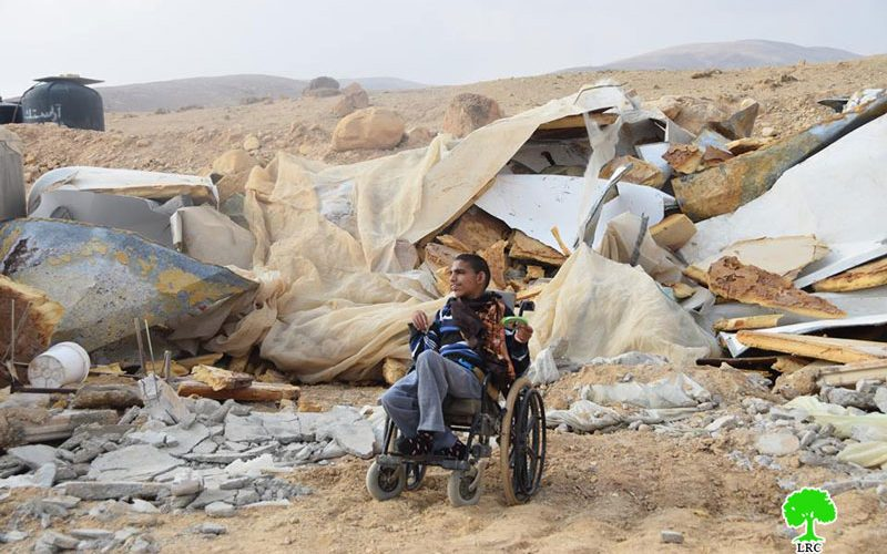 Israeli troops demolish Palestinian homes in Fasayil Al-Wousta / North Jericho