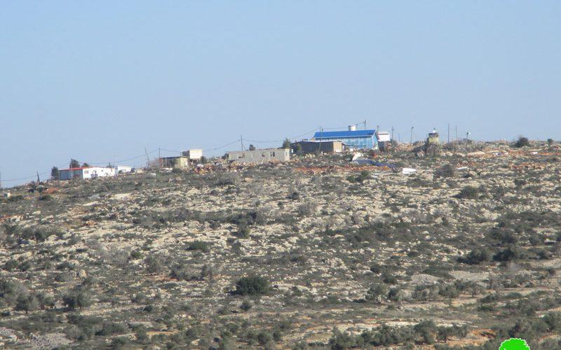 New outpost in Al-Mughayyir / Ramallah