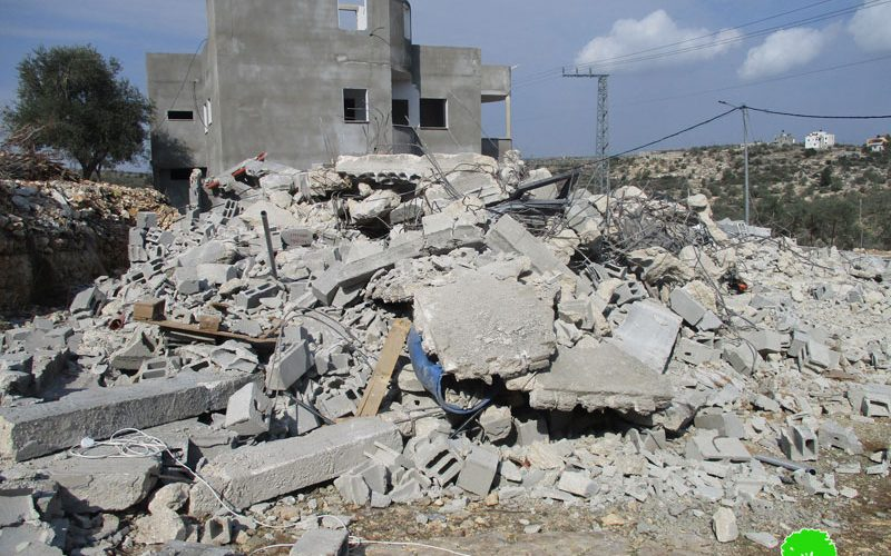 Demolition in Imreha hamlet/ Jenin governorate