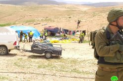 Confiscations and threats in the Yatta Hamlet of Al-Fakhit / Hebron Governorate
