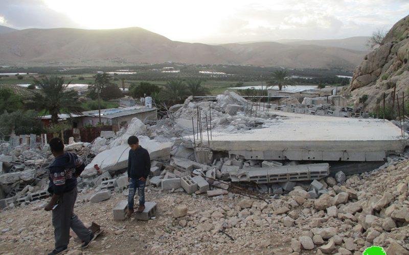 House demolition in Aj-Jiftlik/ Jericho governorate