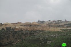 """الشروع بإنشاء حي استعماري جديد في مستعمرة """"معاليه إسرائيل"""" غرب سلفيت"""