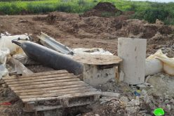 The occupation forces destroy an artesian well in Sahel Al-Bikai'a / Tubas governorate