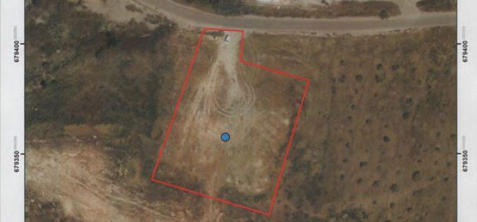 "The Israeli company ""Mekorot"" laid hands on an artesian well – Kafr Qaddum / Qalqilya governorate"