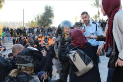 Israeli forces assault Muslim worshipers and close al Aqsa mosque/ Occupied Jerusalem