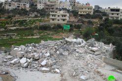 بذريعة الأمن الاحتلال يهدم منزل الأسير عاصم البرغوثي في قرية كوبر / محافظة رام الله