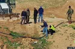 Sabotage and confiscation of a water network from Masafer Yatta/ south Hebron