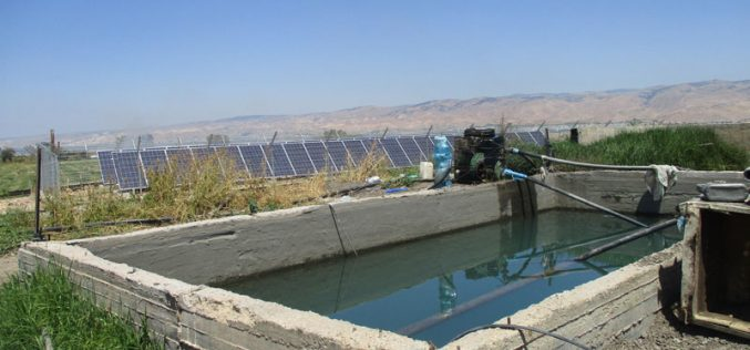 Stop work order on a Solar Energy Station in Khirbet Ad-Dear/ Tubas governorate