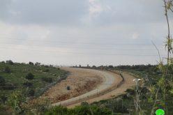 إخطار بتمديد سريان وضع اليد على 3 دونمات من أراضي قرية بدرس الزراعية / محافظة رام الله