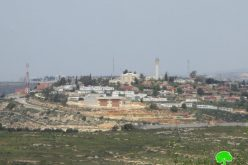 "Expansions in ""Ma'ale Levona"" North Ramallah"