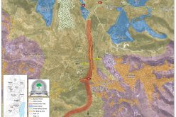 Confiscation of lands for a new colonial road / Hebron
