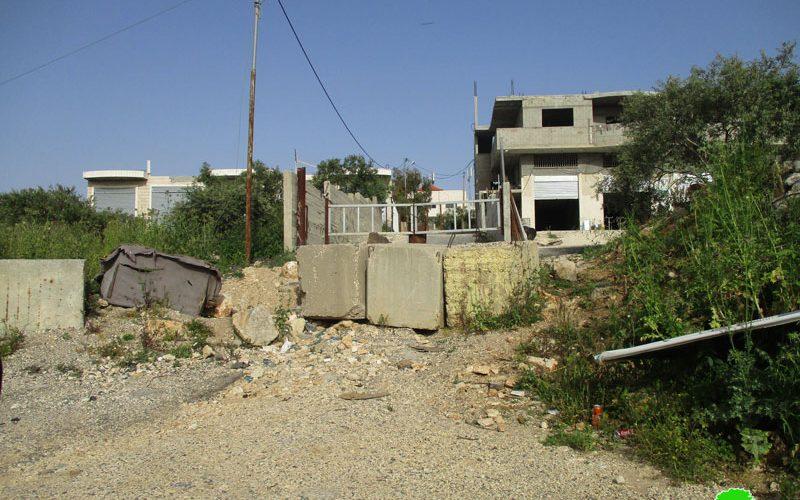 الاحتلال يغلق عدداً من الطرق شمال محافظة سلفيت