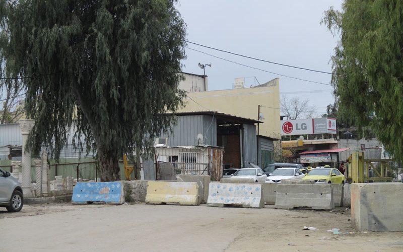 جيش الاحتلال يغلق مدخل بلدة عزون الشمالي بشكل كامل / محافظة قلقيلية