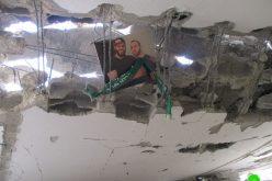 بذريعة الأمن الاحتلال يهدم منزل الشهيد صلاح عمر البرغوثي في قرية كوبر / محافظة رام الله
