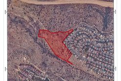 "Israeli authorities lay their hands on a Palestinian Natural Reserve for the favour of ""Alfei Menashe"" colony/ Qalqilya governorate"