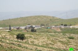 "Expansions in ""Nahal"" Military Camp – Wad Al-Malih Area / Tubas Governorate"