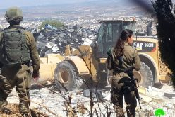 الاحتلال يهدم منشأة صناعية بقرية فقيقيس غرب الخليل