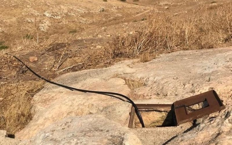 Israeli Settlers Lay their Hands on an Agricultural Cistern in Tubas Governorate