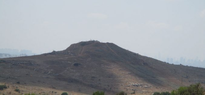 New Cemetery for Settlers on Az-Zawiya lands/ Salfit governorate