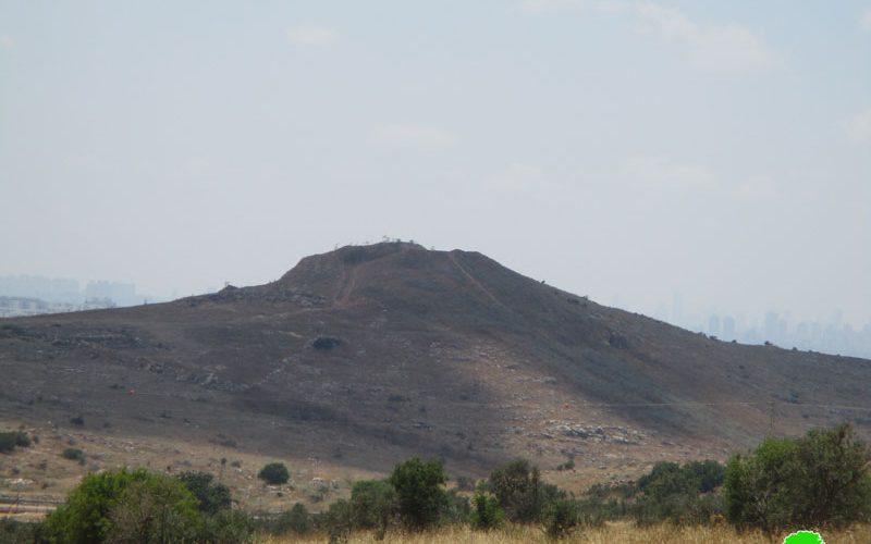 المصادقة على إقامة مقبرة جديدة للمستعمرين على أراضي قرية الزاوية / محافظة سلفيت