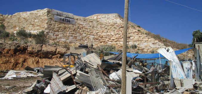 Demolition of 3 Facilities in Deir Ballut/ Salfit Governorate