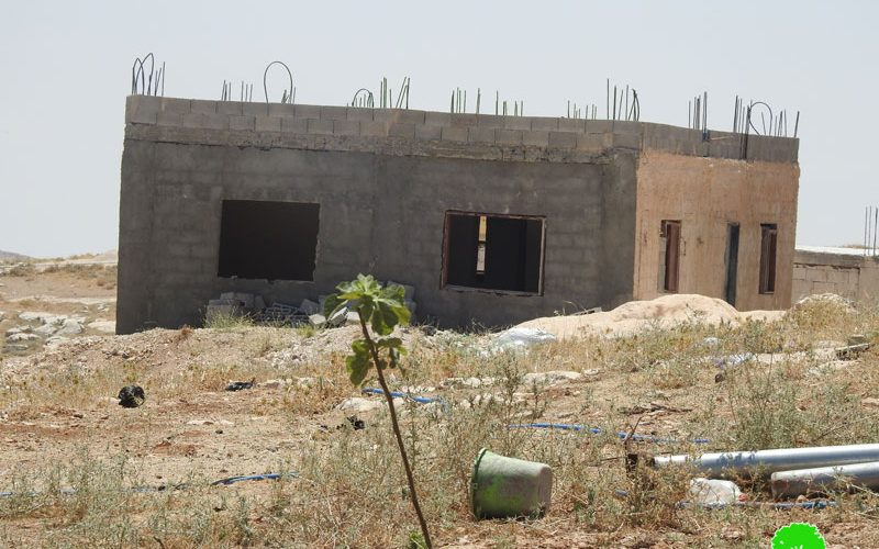 Halt of Work Order on a House in Beit Ta'mar / Bethlehem Governorate