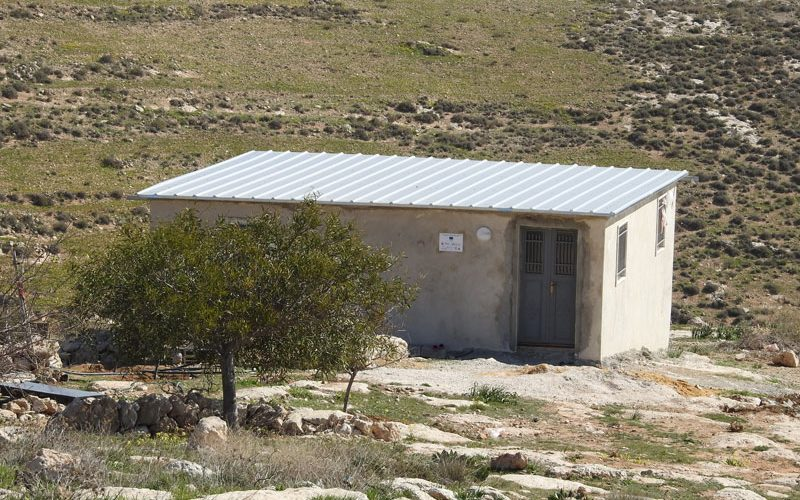Demolishing order on a school in Kallet Ad-Daba' / Hebron Governorate