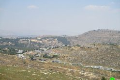 The Occupation Provides Water Supply for Israeli Illegal Settlements – Sinjil Village / Ramallah